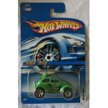 Hot Wheels - Wolkswagen Baja Bug Verde, Vocho, Escarabajo