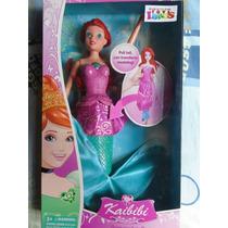 Barbie Sirena Para Niñas Muñeca 2 En 1