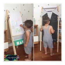 Pizarra 3 En 1  Infantil / Cersary Design
