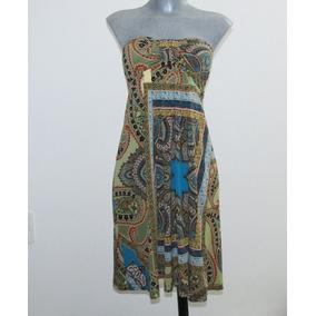 Lindo Vestido Spandex T/ G Saint Tropez. Una Puesta
