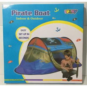 Carpa Barco Pirata 170x85x68 Cm Iplay 8733