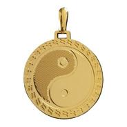 Pingente Yin Yang Rellicari Banhado A Ouro 18k R016