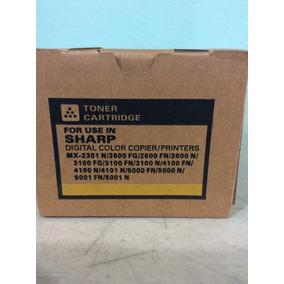 Toner Sharp Mx2301/2600/3100/4100/4101/5000 Amarillo Katun