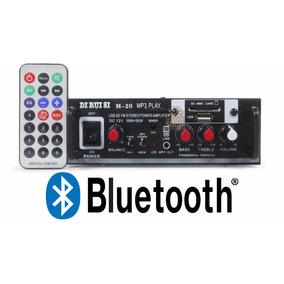 Amplificador Áudio Receiver Bluetooth Som Ambiente Rca P2