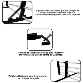Divisor Separador Cargas Organizador Caçamba Picape Amarok