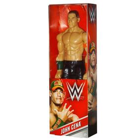 Wwe Surtido Figuras Articuladas 12 John Cena Rojo John Cena