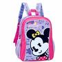 2 Mochila Infantil Minnie Licenciado Disney Costa Meninas