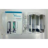Dispensador Doble Jabón / Shampoo ( 400ml ) Webston Excella2