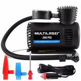 Mini Compressor Ar Portátil Automotivo Multilaser 250 Psi