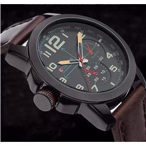 782ee0ae1e85a Relogio Curren Luxo Pulseira De Couro Masculino - Relógios no ...