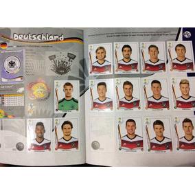 Álbum Copa Do Mundo Brasil 2014 - 411 Figurinhas Coladas