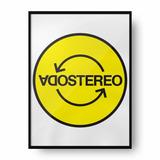Cuadro Deco Soda Stereo (d0097 Boleto Store)