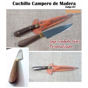 Cuchillo Campero Asado Logo Personalizado Regalo Empresarial