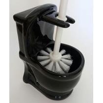 Escova Sanitária Com Suporte Em Cerâmica Vaso Desing Moderno