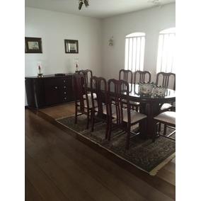 Jogo Jantar Luxo! Mesa + 8 Cadeiras + Bufê