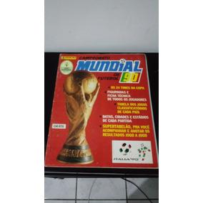 Album Copa Do Mundo 90 - Panini Brasil