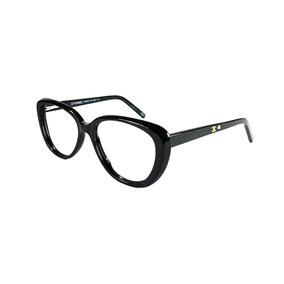 92c31d69247c2 Armação Oculos Grau Feminino Ch57 Acetato Premium Original