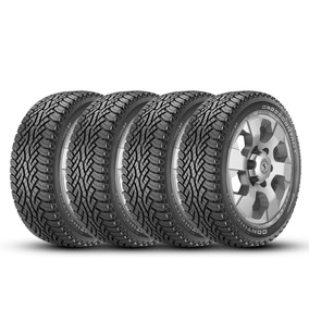 Kit 4 Pneus Continental 205/60r15 91h Conticrosscontact At