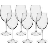 Jogo Com 6 Taças Cristal Vinho Tinto 580 Ml Bohemia Gatro