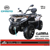 450 L Gamma Cfmoto Np - Malacate - Cuatriciclo 4x4