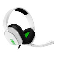 Headset Gamer Astro A10 Branco E Verde Fone Multiplataforma
