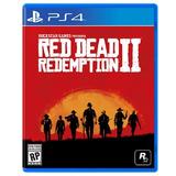 Red Dead Redemption 2 4k Playstation 4 Ps4 Fisico Sellado