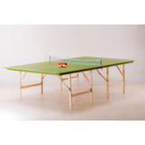 Mesa Ping-pong Plegable Medidas Reglamentarias C/accesorios