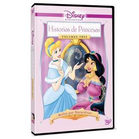 Dvd - Historias De Princesas Volumen 3 Bellas Por Naturaleza