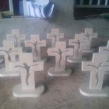 Bellos Crucifijos En Mdf Listos Para Pintar