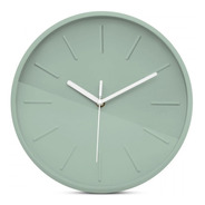 Reloj De Pared Escandinavo Oslo Silencioso Colores