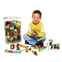 Blocos Montar Formando Ideias Brinquedo Pedagógico 250 Pçs
