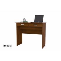 Escrivaninha 2 Gavetas Imbuia - Comprar Móveis