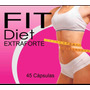 Fit Diet Extra Forte 45 Capsulas Emagrecedor