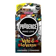 5 Condones Prudence Sabor Y Aroma Chicle, Vete A La Versh