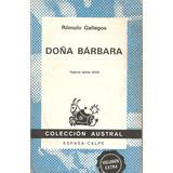 Doña Bárbara, Novela, Rómulo Gallegos