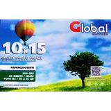 Papel Foto Global Glossy A6 10 X 15 200 Gramos X 500 Hojas