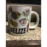 Taza Souvenir Belize Ideal Decoracion