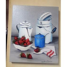 cuadros modernos pintados a mano para la cocina