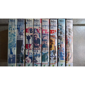 Beatles, Antología Documental En Vhs, 8 Video Cassettes