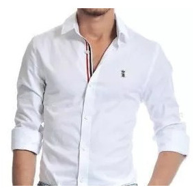 Camisa Social Sergio K Fred Perry Armani Exchange Original
