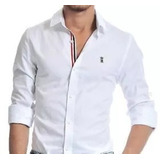 Camisa Social Sergio K Fred Perry Armani Exchange Original