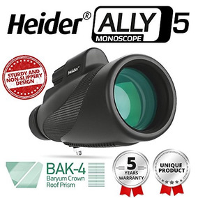 Heider Ally5 Monoscope 12x50 Compact Monocular Scope Imperme