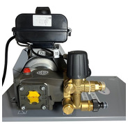 Hidrolavadora Con Paro Automático Industrial Eléctrica 6.7 Hp 3000psi Con Protección Térmica Eléctrica De Bomba Y Motor