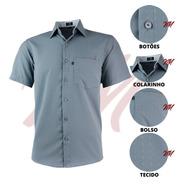 Camisa Masculina Evangelica Temos Plus Size Não Amassa 3005