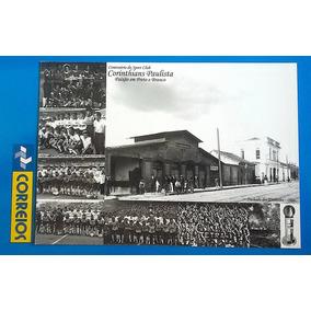 V 9157 Cartao Postal Corinthians Futebol Esporte
