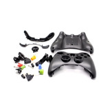 Carcasa Control Xbox 360 Alambrico Negra