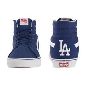 Tênis Vans Mlb Sk8 Hi Los Angeles Dodgers Masculino