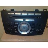 Autoestéreo Mazda 3 2011 Excelente Estado Cd Mp3 Radio
