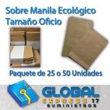 Sobre Manila Ecológico Tamaño Oficio Somos Tienda