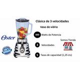 Licuadora Oster Cromada Clásica 3 Velocidades 4655